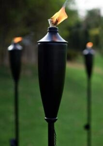 outside oil lamps