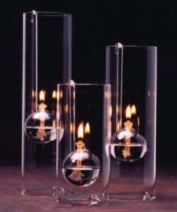 table oil lamp