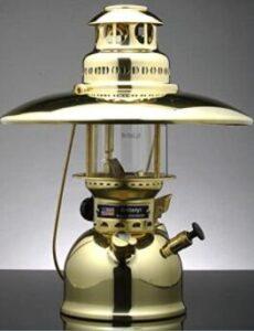 Britelyt brand petromax lantern with sturdy brass body