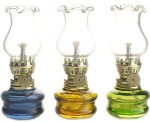 3 pack kerosene oil lamps
