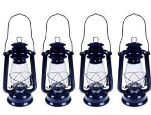 4 pack vintage kerosene lamps