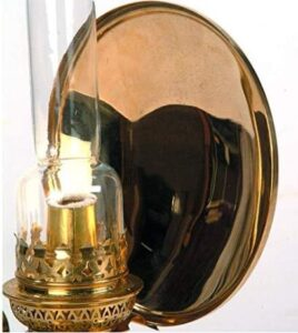 oil lantern with reflector