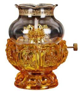glass kerosene lamps