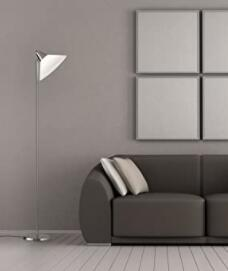 torchiere floor lamp with task light