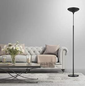 globe electric torchiere led floor lamp