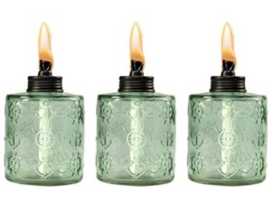 3-pack table oil candles