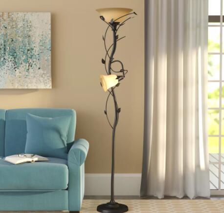 halogen torchiere floor lamp 300 watts
