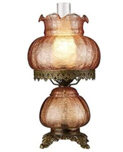 victorian style hurricane lamps