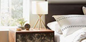 mid century modern nightstand lamps