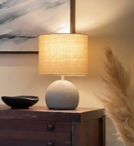 contemporary nightstand lamps