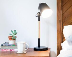 ikea style nightstand lamp and parts