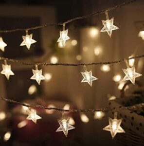 outdoor star string lights