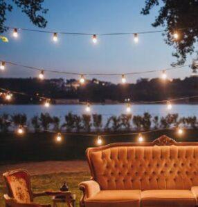 outdoor patio hanging lights