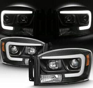 ram 1500 projector headlight bulb