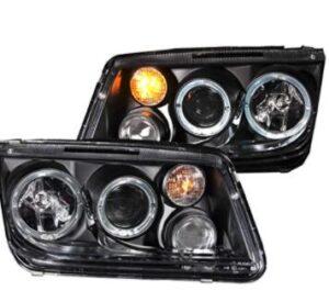halogen projector headlight for Volkswagen Jetta