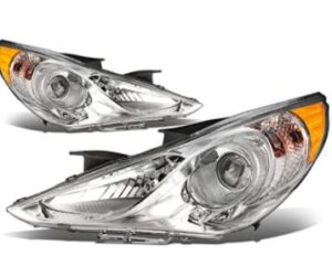 h7 high and low beam corner projector headlight bulb