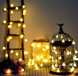 indoor and outdoor string lights