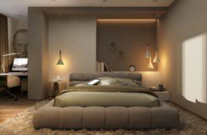 warm white light color for bedroom