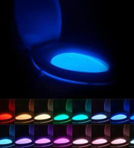motion activated toilet bowl nightlight