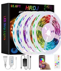 rgb led strip lights with remote and smart control