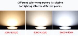 different colors of light bulbs