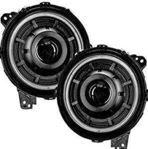 Jeep Wrangler and Jeep Gladiator projector headlights