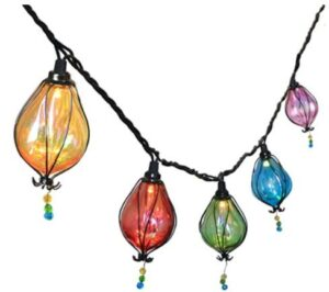 outdoor lantern string lights