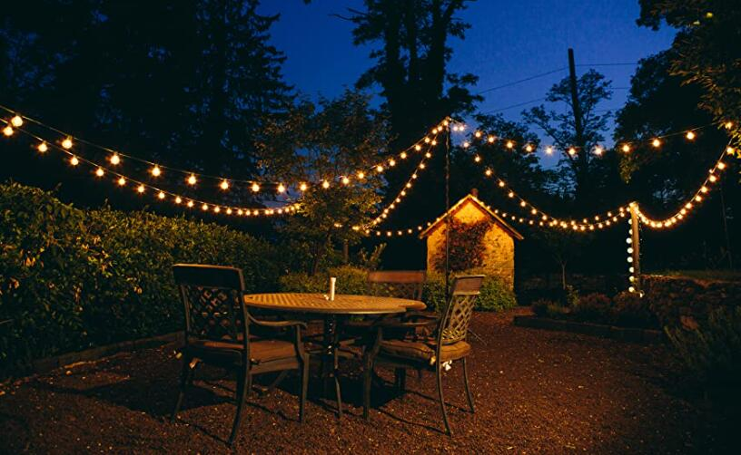 outdoor solar string lights