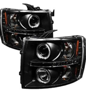 led projector headlight with high and low H1 bulb
