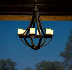 battery operated outdoor hanging lights