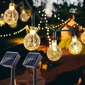 weatherproof string lights outdoor solar powered led heavy duty waterproof long