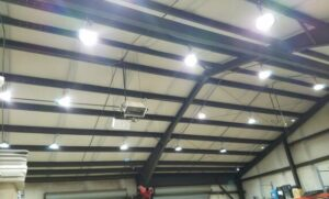 high ceiling light fixture