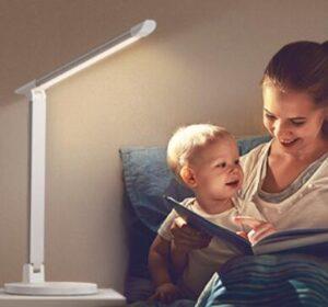 taotronics led desk lamp with usb charging port