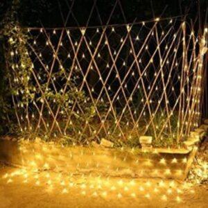solar net curtain lights