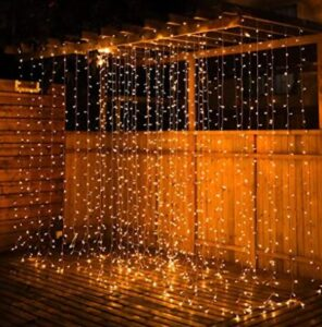 where to use curtain lights
