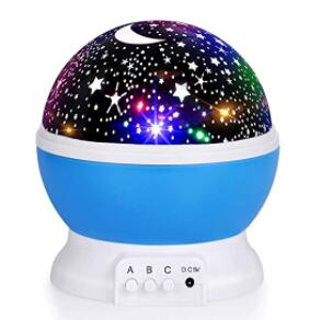 baby rechargeable ceiling night light projector