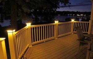 brightest solar fence post lights
