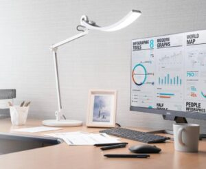 best home office lighting for computer work