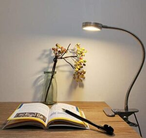 study table lamp with clip